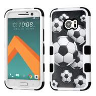 *Sale* Military Grade TUFF Image Hybrid Armor Case for HTC 10 - Soccer Ball