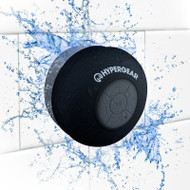 HyperGear H2O Water Resistant Bluetooth Wireless Speaker - Black