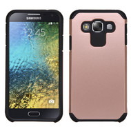 *Sale* Hybrid Multi-Layer Armor Case for Samsung Galaxy E5 - Rose Gold