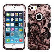 *SALE* Military Grade TUFF Image Hybrid Case for iPhone SE / 5S / 5 - Phoenix Flower Rose Gold