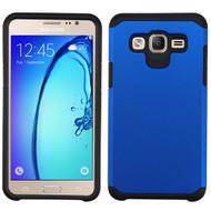 Hybrid Multi-Layer Armor Case for Samsung Galaxy On5 - Blue