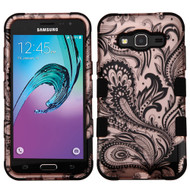Military Grade TUFF Image Hybrid Armor Case for Samsung Galaxy Amp Prime / Express Prime / J3 / Sol - Phoenix