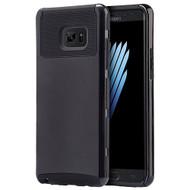 Glossimer UV Coating Dual-Layer Hybrid Armor Case for Samsung Galaxy Note 7 - Black