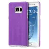 Ezpress Anti-Slip Hybrid Armor Case for Samsung Galaxy Note 7 - Purple