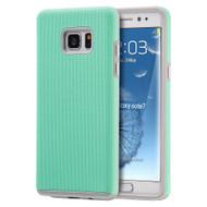 Ezpress Anti-Slip Hybrid Armor Case for Samsung Galaxy Note 7 - Teal