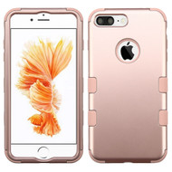 Military Grade TUFF Hybrid Armor Case for iPhone 8 Plus / 7 Plus - Rose Gold
