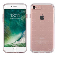 Perforated Transparent Cushion Gelli Skin Cover for iPhone 8 / 7 - Clear