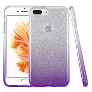 *SALE* Full Glitter Hybrid Protective Case for iPhone 8 Plus / 7 Plus - Gradient Purple