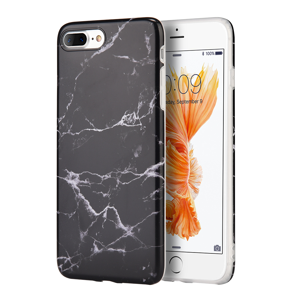 iphone 6s pics marble tpu for iphone 8 plus 7 plus black hd 11489