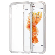 *SALE* Crystal Clear TPU Case with Bumper Support for iPhone 8 / 7 - Clear