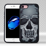 Military Grade Certified Challenger Graphic Hybrid Case for iPhone 8 / 7 - Skull