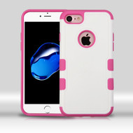 Military Grade Certified TUFF Merge Hybrid Armor Case for iPhone 8 / 7 - White Hot Pink