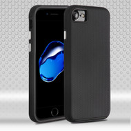 Ezpress Anti-Slip Hybrid Armor Case for iPhone 8 / 7 - Black
