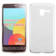*Sale* Rubberized Crystal Case for Alcatel Stellar / TRU - Clear