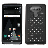 TotalDefense Diamond Hybrid Case for LG V20 - Black