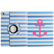 360 Degree Smart Rotary Leather Case for iPad Pro 9.7 inch - Nautical