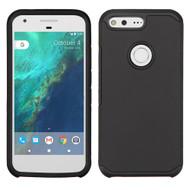 Hybrid Multi-Layer Armor Case for Google Pixel - Black
