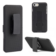 Kickstand Protective Case and Holster for iPhone 8 / 7 - Black