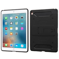 Kinetic Hybrid Armor Case with Kickstand for iPad Pro 9.7 inch - Black