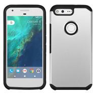 Hybrid Multi-Layer Armor Case for Google Pixel XL - Silver