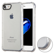 Air Sacs Transparent Anti-Shock TPU Case for iPhone 8 / 7 - Clear