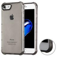 Air Sacs Transparent Anti-Shock TPU Case for iPhone 8 / 7 - Smoke