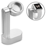 Charging Dock Stand Platform for Apple Watch - Silver