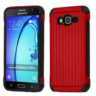 Suitcase Design Hybrid Protector Cover for Samsung Galaxy On5 - Red
