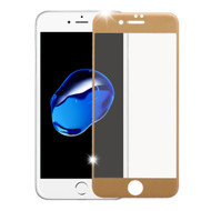 *Sale* HD Curved Full Coverage Premium Tempered Glass Screen Protector for iPhone 8 / 7 - Gold