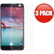*SALE* Premium Tempered Glass Screen Protector for ZTE Zmax Pro / Grand X Max 2 / Imperial Max / Max Duo 4G - 3 Pack
