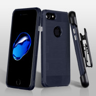 TUFF Cosmic Space Premium TPU Case with Holster for iPhone 8 / 7 - Dark Blue