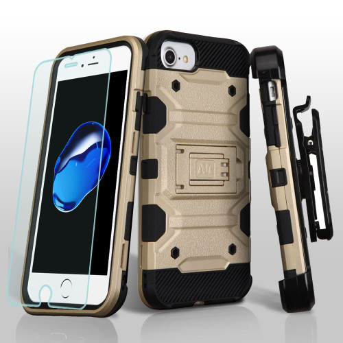 Military Grade Storm Tank Hybrid Case With Holster And