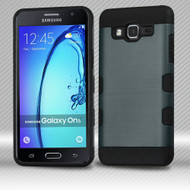 *Sale* Military Grade TUFF Trooper Dual Layer Hybrid Armor Case for Samsung Galaxy On5 - Brushed Slate Blue