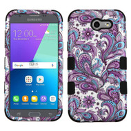 Military Grade TUFF Case for Samsung Galaxy J3 (2017) / J3 Emerge / J3 Prime / Amp Prime 2 / Sol 2 - Persian Paisley