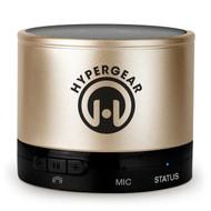 HyperGear MiniBoom Bluetooth Wireless Speaker - Gold