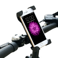Universal Cell Phone Bicycle Motorcycle Handlebar Mount Holder - Black