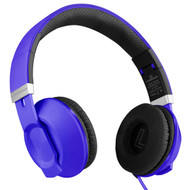 HyperGear V30 Stereo Headphones with Microphone - Blue