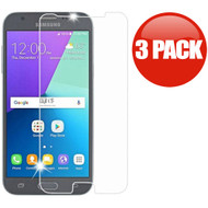 Tempered Glass Screen Protector for Samsung Galaxy J3 (2017) / J3 Emerge / J3 Prime / Amp Prime 2 / Sol 2 - 3 Pack