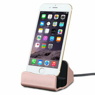 Lightning Charge and Sync Dock Stand for iPhone and iPod - Rose Gold