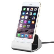 *SALE* Lightning Charge and Sync Dock Stand for iPhone and iPod - Silver