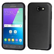 Slim Armor Hybrid Case for Samsung Galaxy J3 (2017) / J3 Emerge / J3 Prime / Amp Prime 2 / Sol 2 - Black