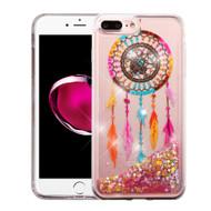 Quicksand Glitter Transparent Case for iPhone 8 Plus / 7 Plus - Dreamcatcher