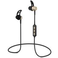HyperGear MagBuds Bluetooth Wireless Aluminum Alloy Headphones - Gold