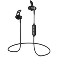 HyperGear MagBuds Bluetooth Wireless Aluminum Alloy Headphones - Jet Black