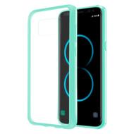 *Sale* Polymer Transparent Hybrid Case for Samsung Galaxy S8 Plus - Baby Blue