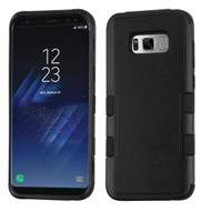 Military Grade Certified TUFF Hybrid Armor Case for Samsung Galaxy S8 Plus - Black