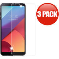 *SALE* HD Premium 2.5D Round Edge Tempered Glass Screen Protector for LG G6 - 3 Pack