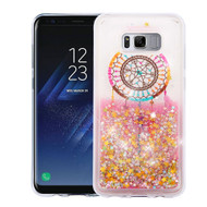 Quicksand Glitter Transparent Case for Samsung Galaxy S8 - Dreamcatcher