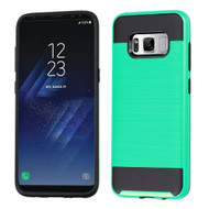 *Sale* Brushed Hybrid Armor Case for Samsung Galaxy S8 Plus - Teal Green