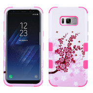 Military Grade Certified TUFF Image Hybrid Armor Case for Samsung Galaxy S8 Plus - Spring Flowers